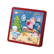 игра магнитная коробка Magnetspiel-Box Weihnachtsbäckerei
