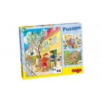 Набор из 3 пазлов Домашние питомцы Puzzles Haustiere  300442