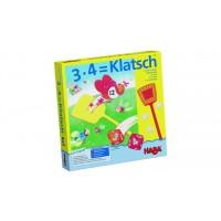 Настольная игра на счет 3 х 4 = БАХ! 3 x 4 = Klatsch
