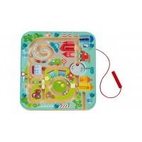 Магнитная игра-лабиринт Город  Magnetspiel
